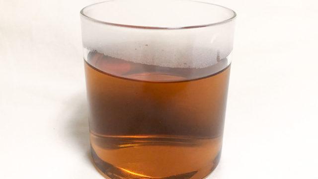 やさしい麦茶濃縮タイプのお湯割り