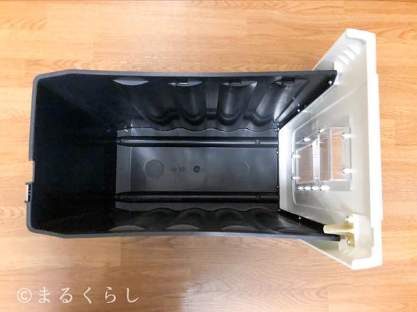 アスカ Asmix マイクロカットシュレッダー S59Mのダストボックス