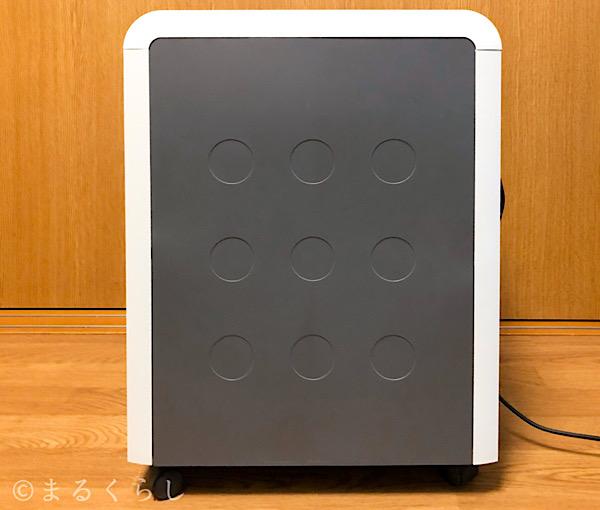 アスカ asmix マイクロカットシュレッダー S59Mの側面