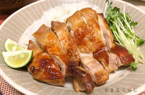 パナソニックのビストロで作った鶏の照り焼き