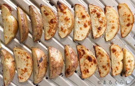 パナソニックのビストロで作った揚げないオーブンポテト