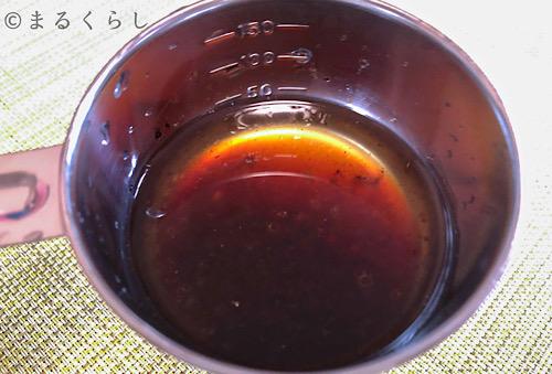 パナソニックのビストロで作った豚バラグリルで出た油を再利用